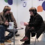 Radiointerview in Leipzig (2010)